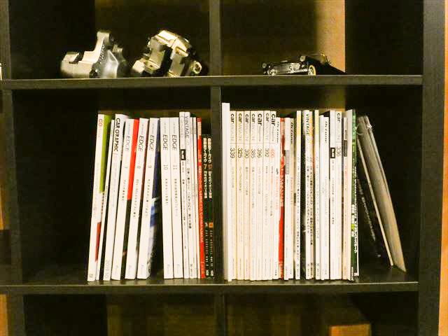 雑誌置き場
